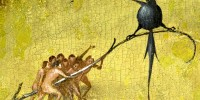 902098_Bosch,_Hieronymus_-_The_Garden_of_Earthly_Delights,_central_panel_-_Detail-_Raven