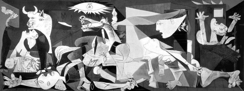 Ιστορία και 3d απεικόνιση της Γκουέρνικα